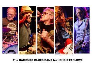 The HAMBURG BLUES BAND feat.  Chris Farlowe & Krissy Matthews @ Bluesnight Glenthof