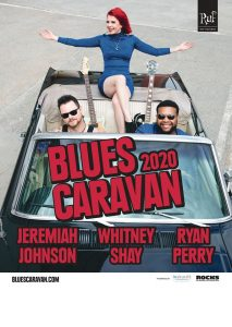 BLUES CARAVAN 2020 Jeremiah Johnson, Whitney Shay and Ryan Perry @ VBS 2020 @ Reigen